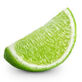 Lime slice Stock Photo