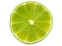 Lime slice royalty free stock photos