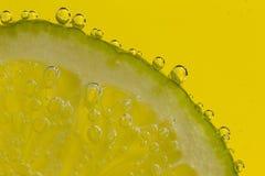 Lime Slice Soda Royalty Free Stock Photography