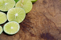 Lime slice. Stock Images