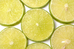 Lime slices Royalty Free Stock Images