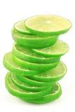 Lime Slices Stock Photos