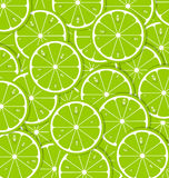 Lime slices Stock Photography