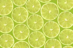 Lime slices Royalty Free Stock Photography