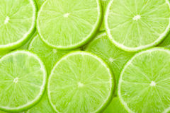 Lime slices background Royalty Free Stock Photography