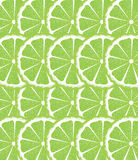 Lime Slices Background Stock Images