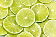 Lime slices - background Royalty Free Stock Images