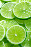 Lime slices Royalty Free Stock Image