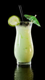 Lime smoothie Stock Image