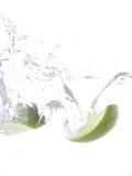 Lime Splash Stock Photos