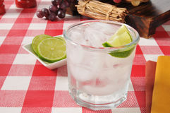 Lime spritzer Stock Images