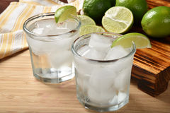 Lime spritzer Royalty Free Stock Photo