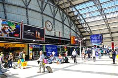 Lime Street Railway Station, Liverpool. Royalty Free Stock Image