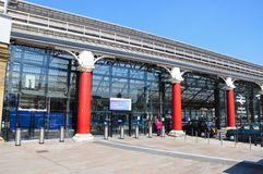 Lime Street Railway Station, Liverpool. Stock Photography