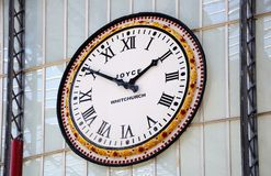 Lime Street Station Clock. Royalty Free Stock Photography