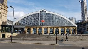 Lime street station liverpool. Liverpool lime st station Royalty Free Stock Images