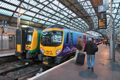 Lime Street Station Royalty Free Stock Photo