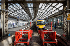 Lime Street Train Station Liverpool UK Royalty Free Stock Photography