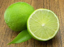 Lime on the table Royalty Free Stock Images