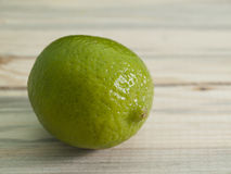 Lime on a table Royalty Free Stock Photo