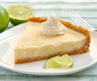 lime tart Royalty Free Stock Photography