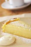 Lime tart Stock Image