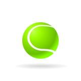Lime tennis ball. Stock Image