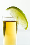 Lime and tequila Royalty Free Stock Photo