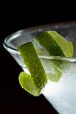 Lime twist garnish Royalty Free Stock Photo