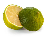 Lime two parts Stock Images