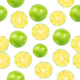 Lime vector background Royalty Free Stock Image