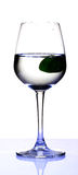 Lime water royalty free stock photos
