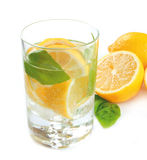 Lime water Stock Photos
