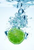 Lime and water stock images