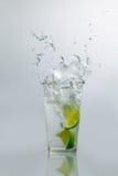 Lime Water Splash Stock Image