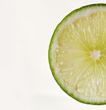 Lime wedge royalty free stock images