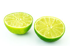 Lime. On white background Stock Image