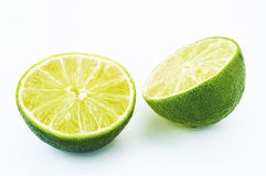 Lime. On white background Royalty Free Stock Images