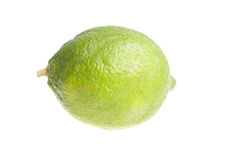 Lime on white background Royalty Free Stock Photography