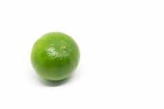 Lime  on white background Stock Photography