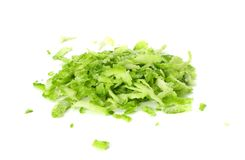 Lime zest isolated on white background. healthy food stock photos