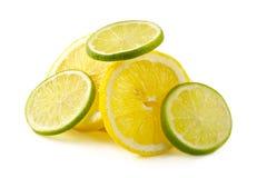 limefrukt för allsorts citroncitron arkivfoto