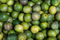 Limefrukt i den Thailand marknaden Royaltyfria Bilder