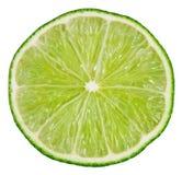 Limefrukt som isoleras på white arkivfoton