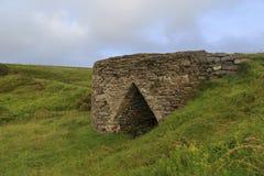 Limefruktbrännugn, Ceredigion Royaltyfri Foto