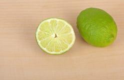 limefrukter två Royaltyfri Foto