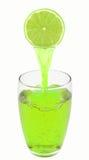 Limefruktfruktsaft Arkivbilder