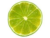 Limefruktskiva royaltyfria foton