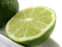 limefruktskiva Fotografering för Bildbyråer