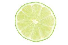 limefruktskiva royaltyfri bild